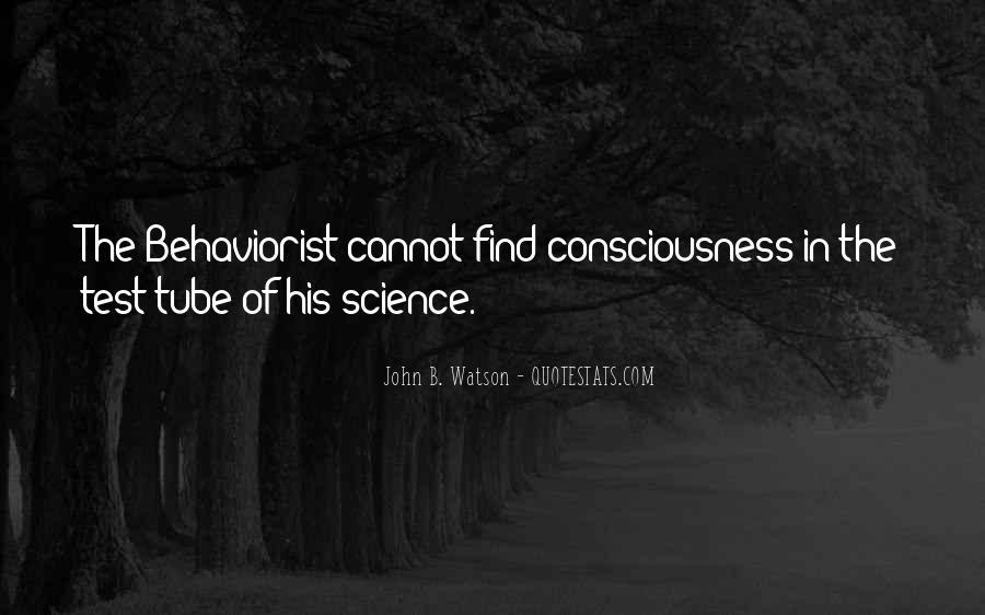 John B Watson Quotes #1456787