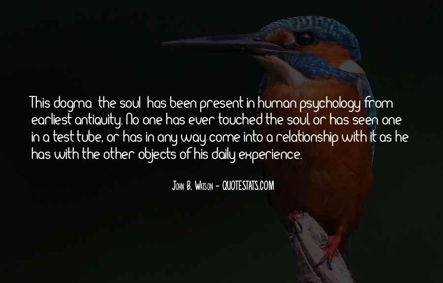 John B Watson Quotes #1716215