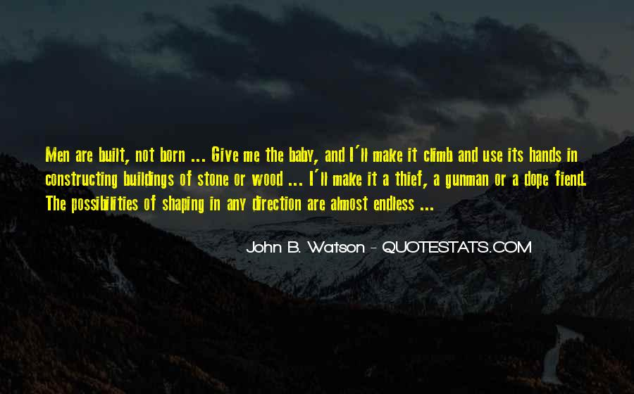 John B Watson Quotes #447042
