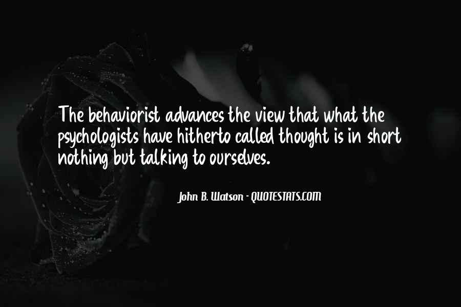 John B Watson Quotes #89773