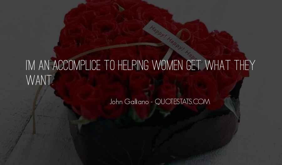 John Galliano Quotes #1189891