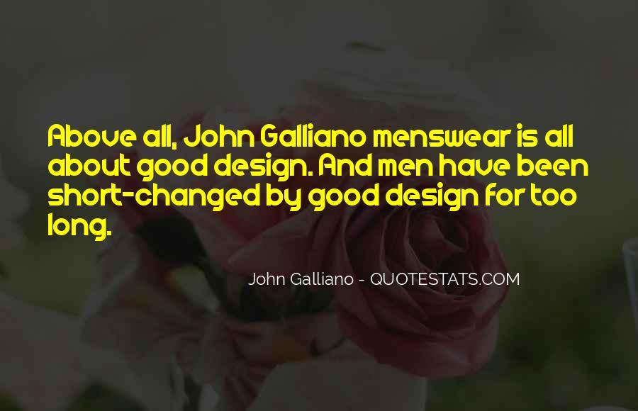 John Galliano Quotes #1805474