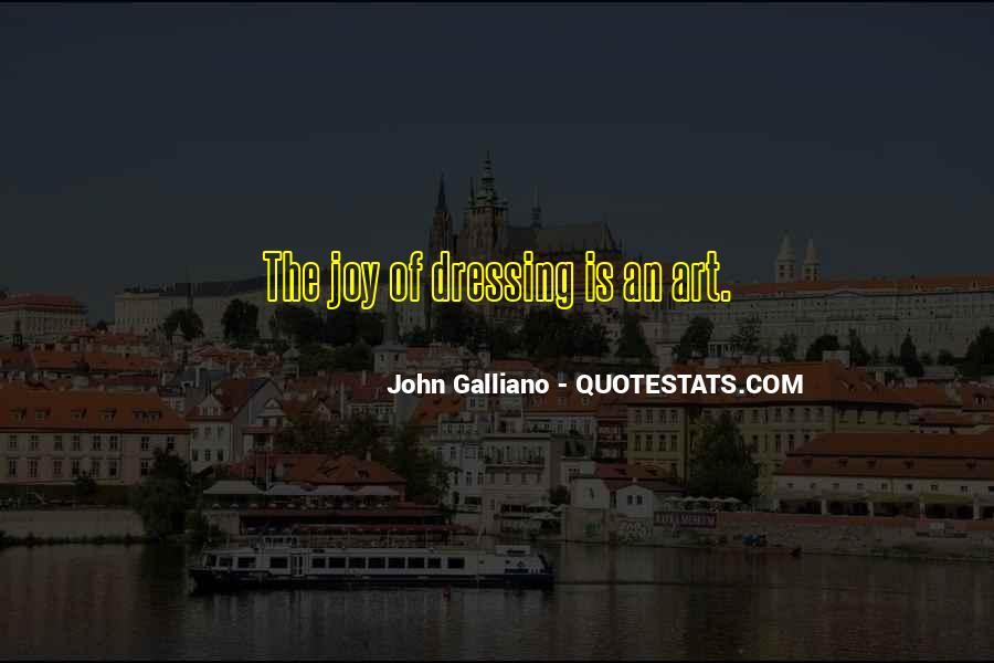John Galliano Quotes #413556