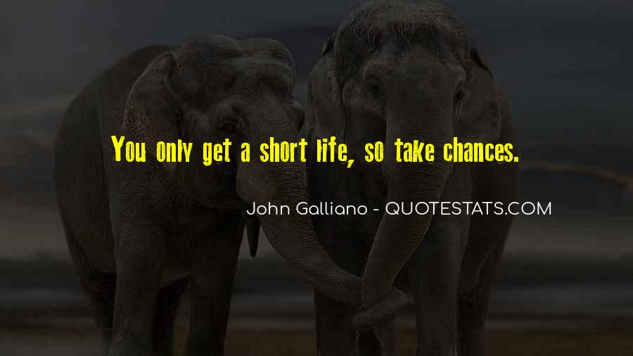 John Galliano Quotes #625476