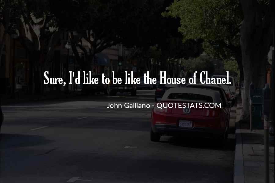 John Galliano Quotes #681413