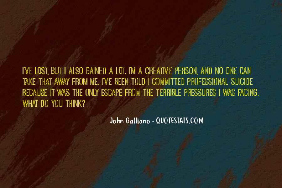 John Galliano Quotes #690668