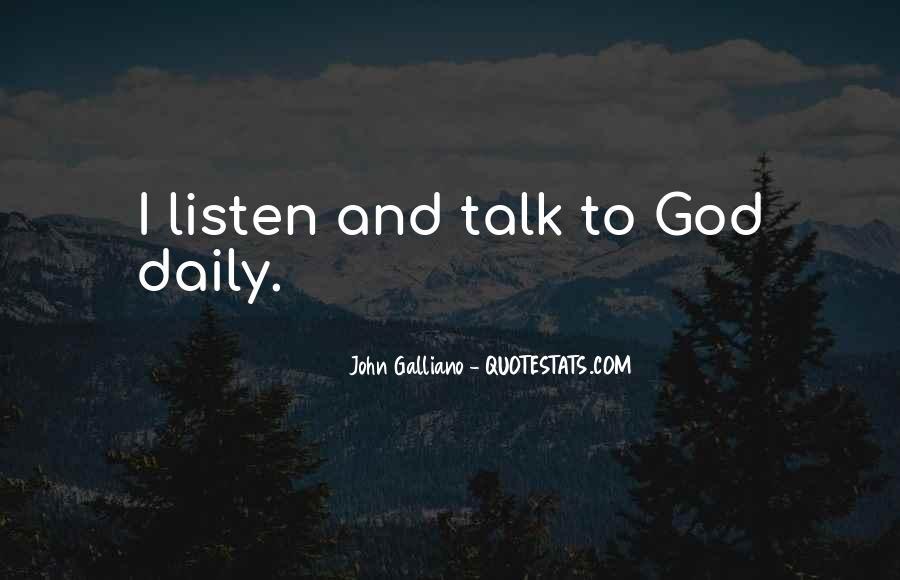 John Galliano Quotes #878007