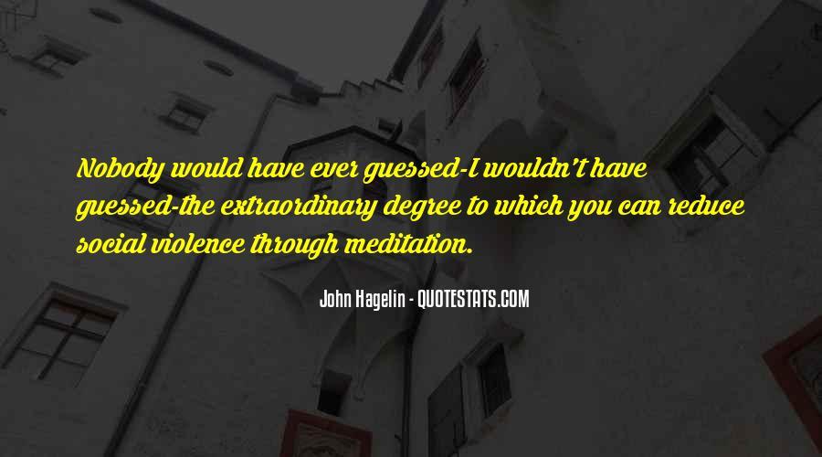 John Hagelin Quotes #1081114