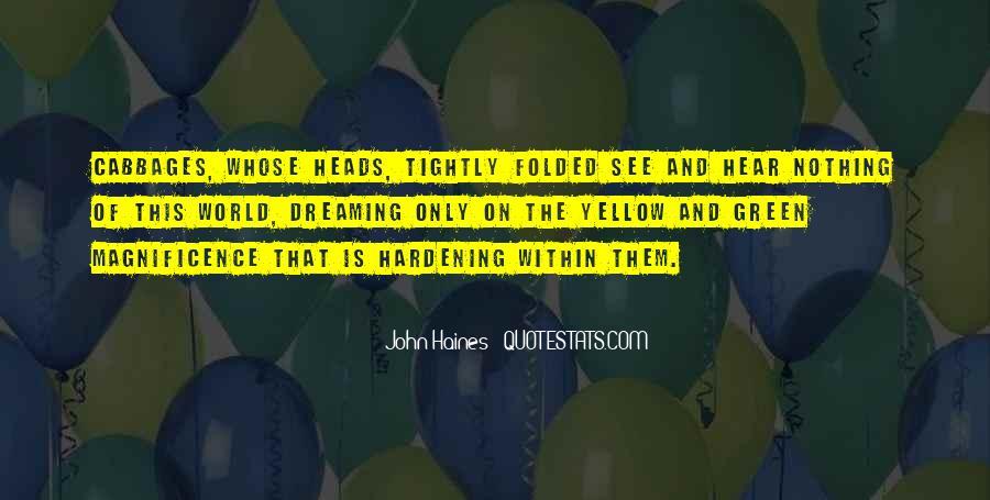 John Haines Quotes #617796