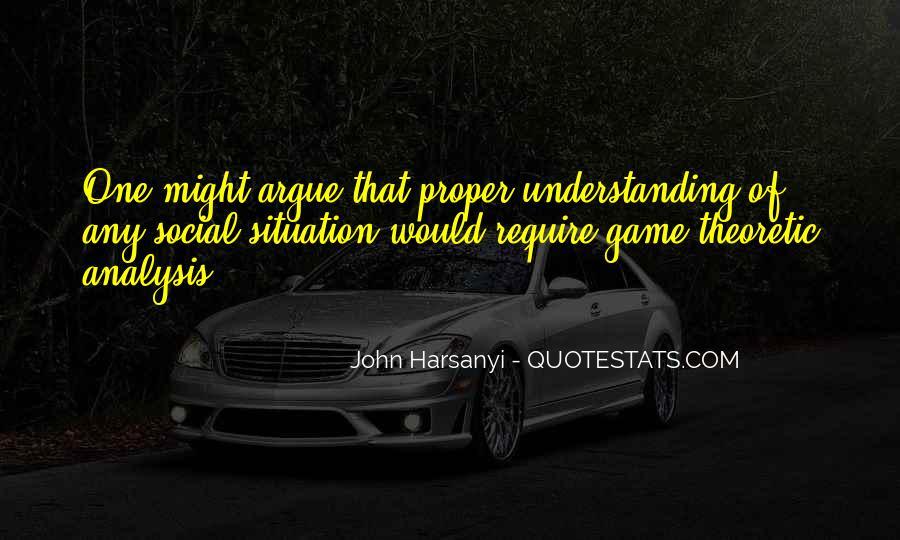 John Harsanyi Quotes #1539775