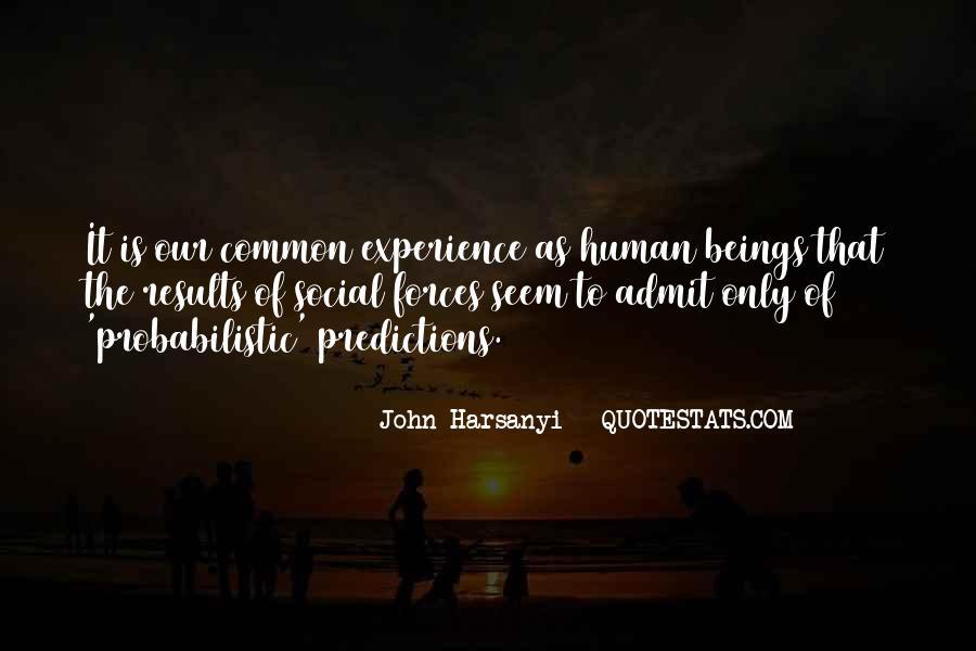 John Harsanyi Quotes #195260