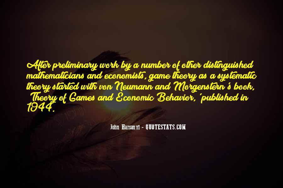 John Harsanyi Quotes #884207