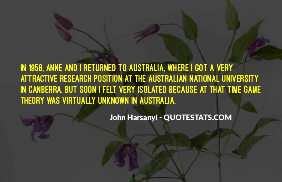 John Harsanyi Quotes #923299
