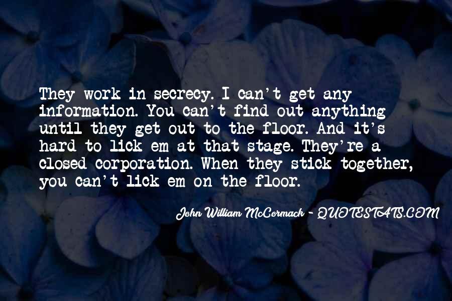 John Mccormack Quotes #26976