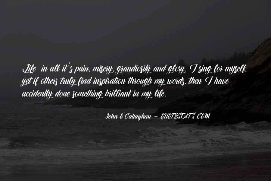 John O Callaghan Quotes #254970