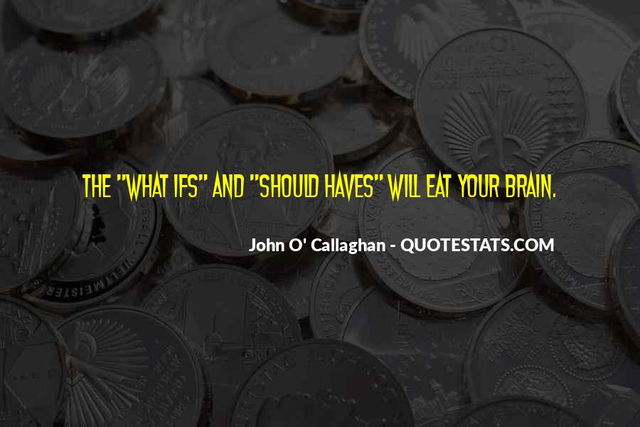 John O Callaghan Quotes #674907