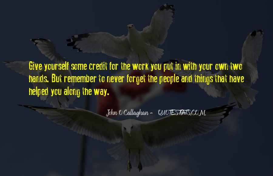 John O Callaghan Quotes #705187