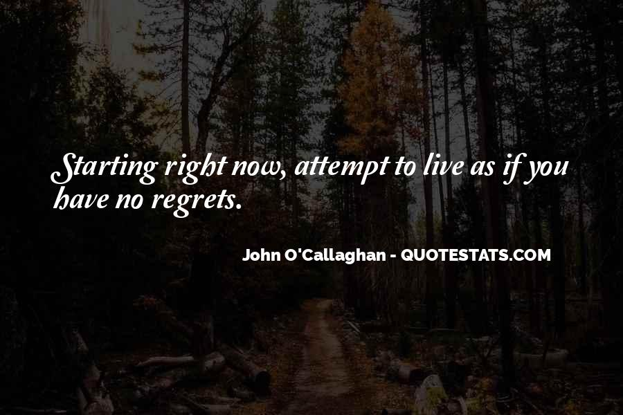 John O Callaghan Quotes #837050