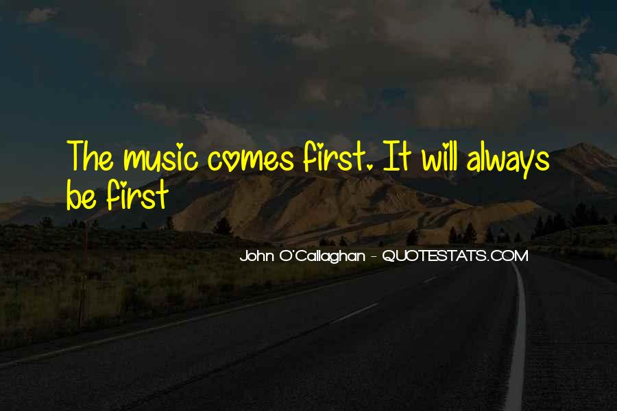 John O Callaghan Quotes #975427