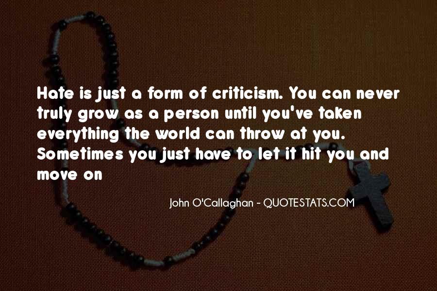 John O'toole Quotes #192187