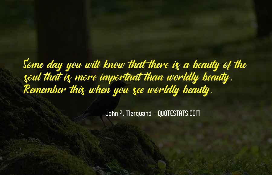 John P Marquand Quotes #89419