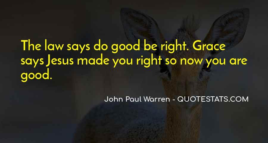 John Paul Warren Quotes #1019766
