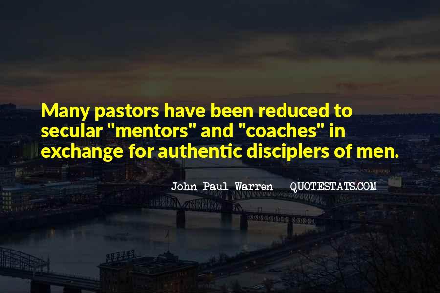 John Paul Warren Quotes #1021026