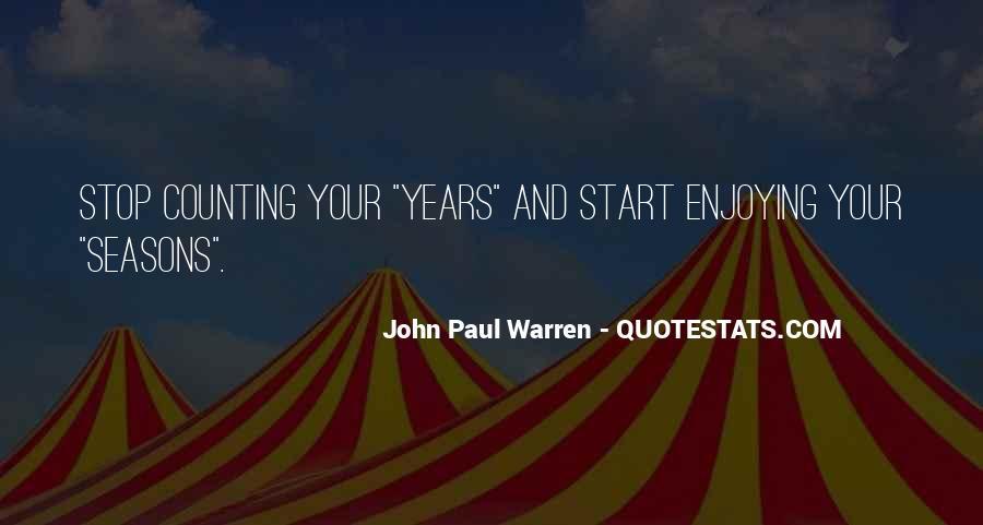 John Paul Warren Quotes #1062391