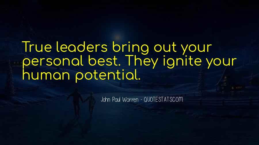 John Paul Warren Quotes #1086588