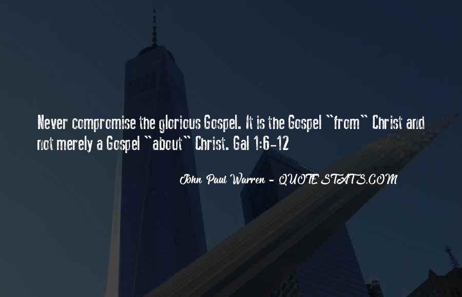 John Paul Warren Quotes #1105845