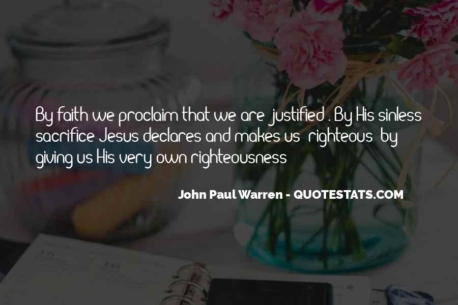 John Paul Warren Quotes #1202635
