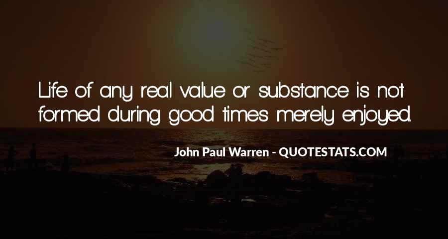 John Paul Warren Quotes #1209085