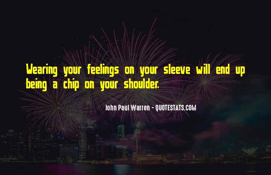 John Paul Warren Quotes #1210