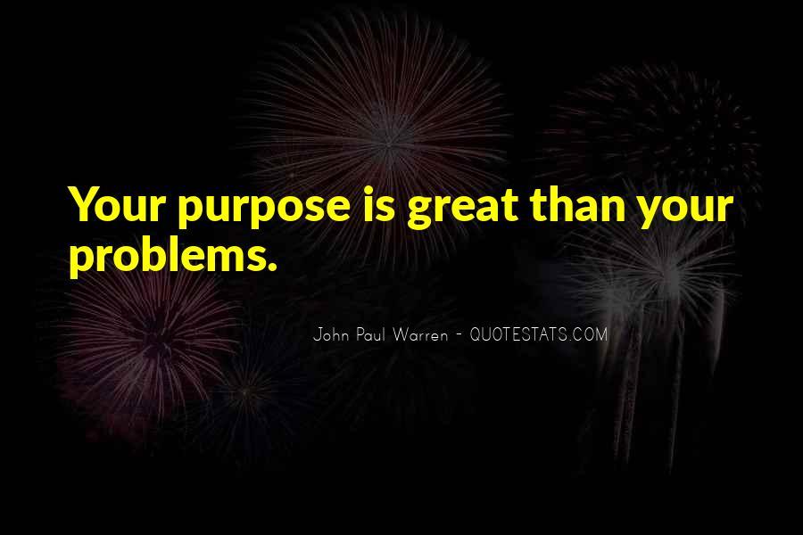 John Paul Warren Quotes #1344490