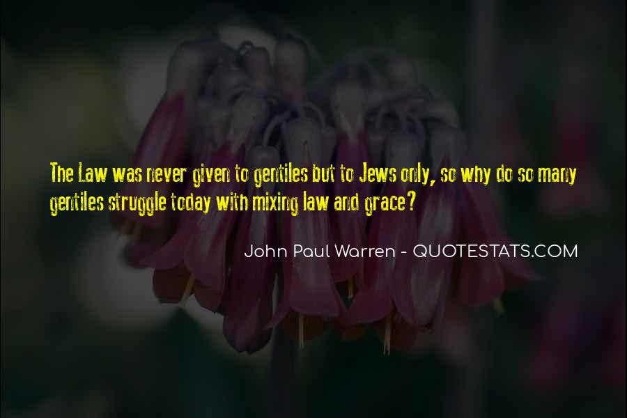 John Paul Warren Quotes #1345844