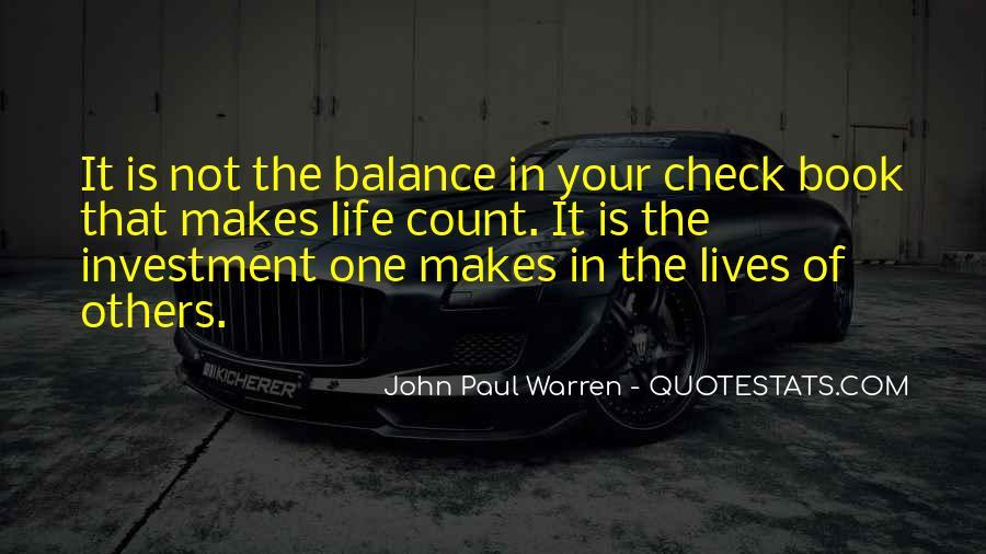 John Paul Warren Quotes #1415100