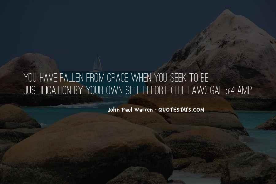John Paul Warren Quotes #1440473