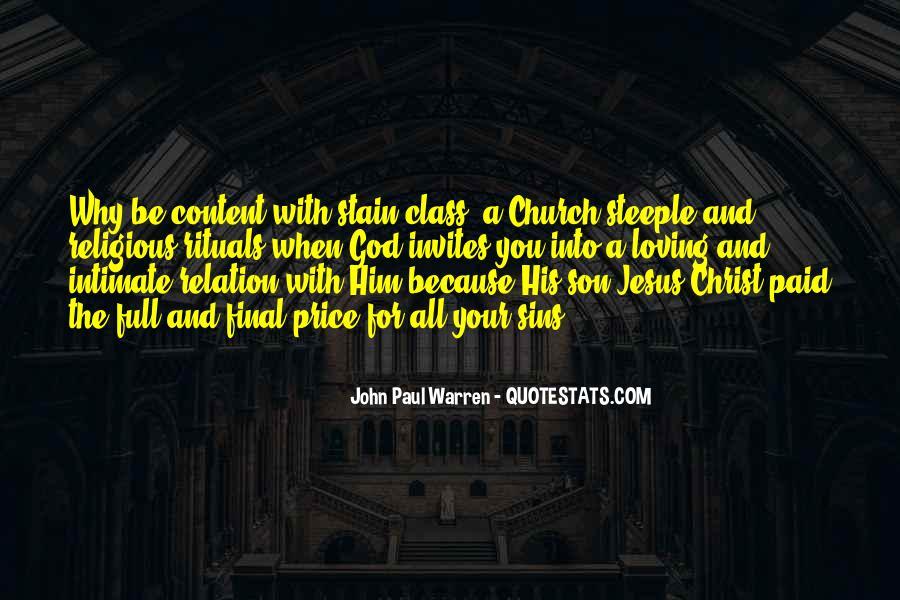 John Paul Warren Quotes #1454650