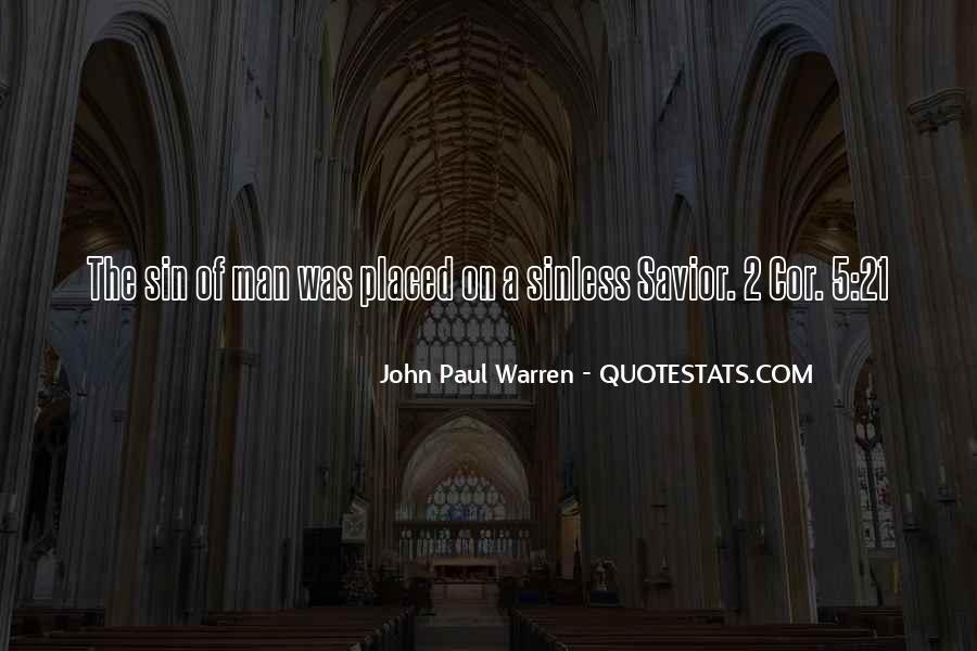 John Paul Warren Quotes #1475447