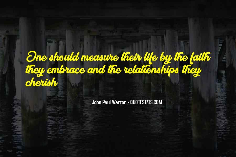 John Paul Warren Quotes #1506404