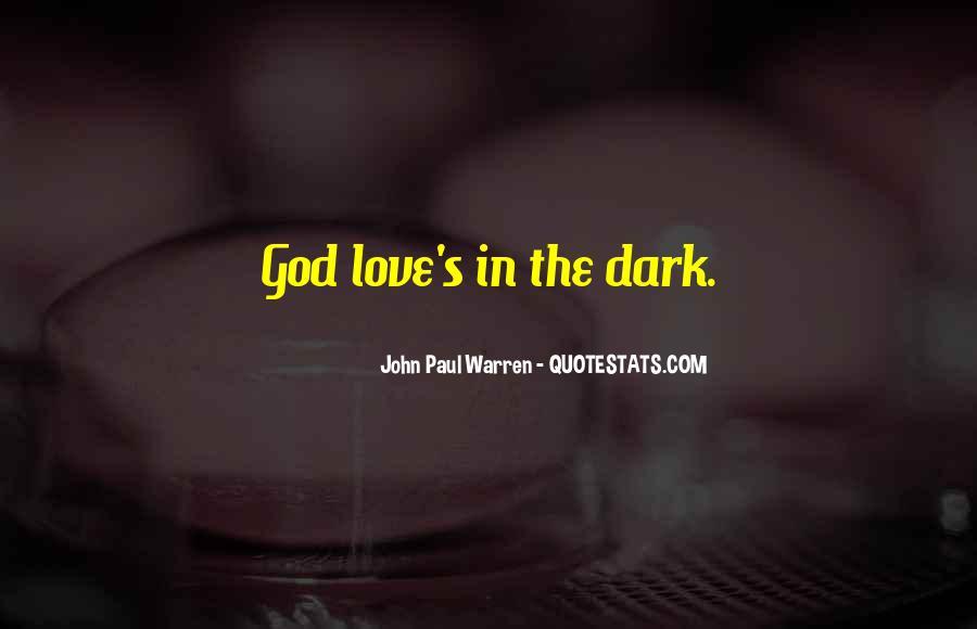 John Paul Warren Quotes #1551452