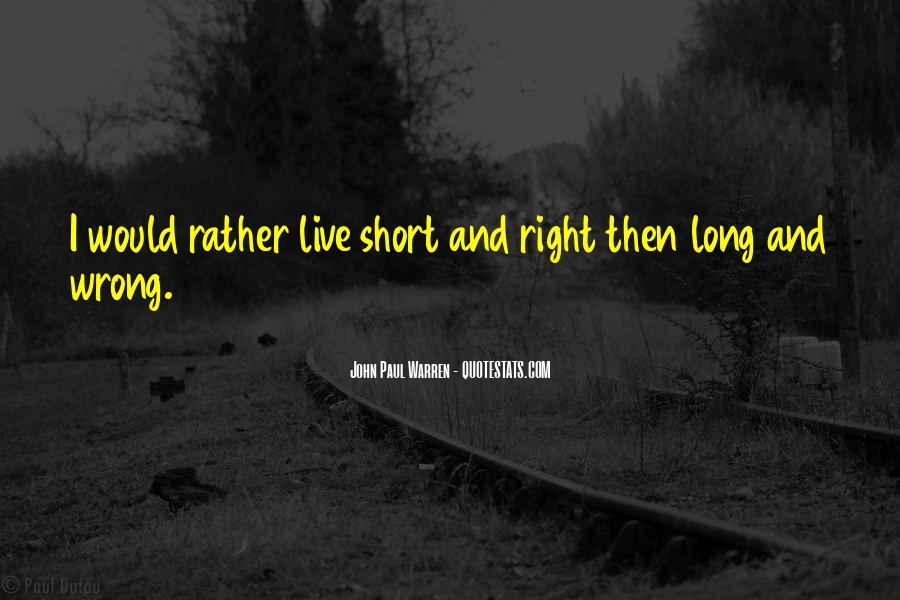John Paul Warren Quotes #1563340