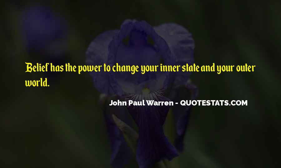 John Paul Warren Quotes #1629194