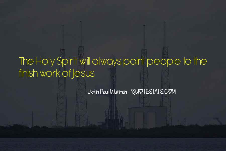 John Paul Warren Quotes #1685662