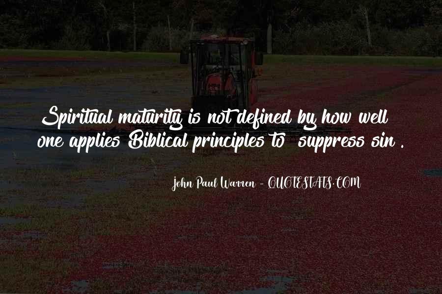 John Paul Warren Quotes #1850751