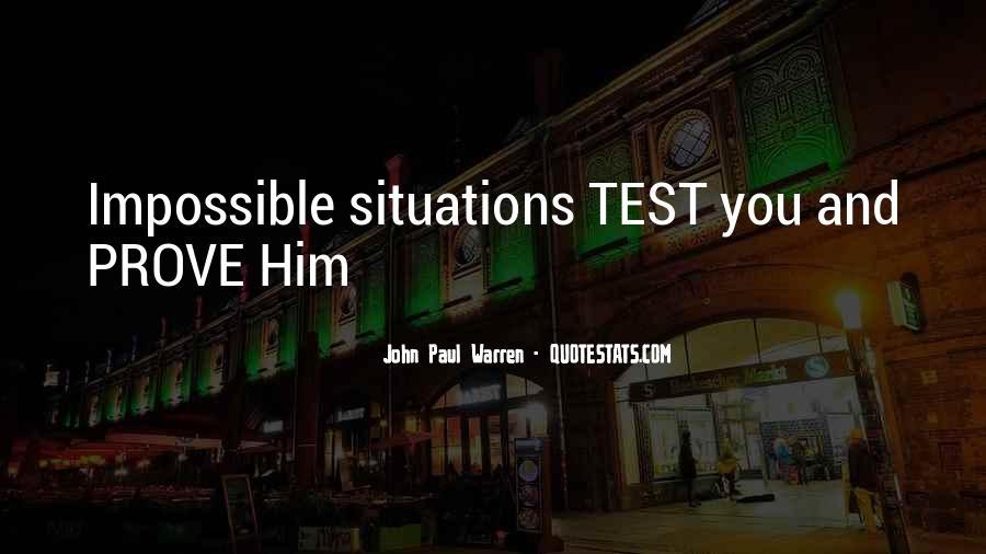 John Paul Warren Quotes #1877229