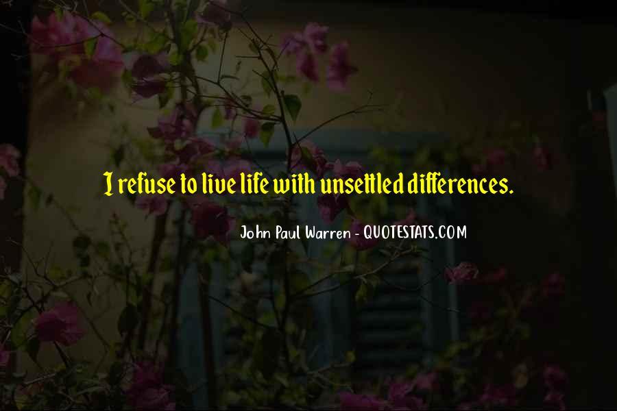 John Paul Warren Quotes #242786