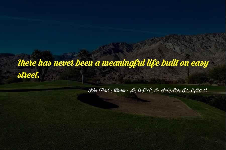 John Paul Warren Quotes #259674
