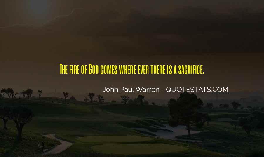 John Paul Warren Quotes #289622