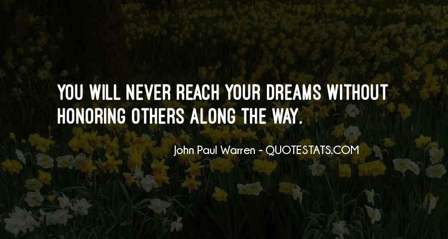 John Paul Warren Quotes #322641